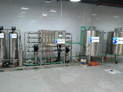 5000 LPH RO SS Plant With Ultervoilet