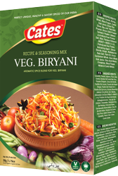 Cates 100 g Biryani Masala, Packaging: Box