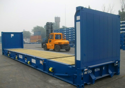 40ft Flat Rack Container