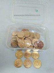 Lakshmi Pooja Copper Coins
