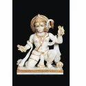 God Hanuman Marble Statue