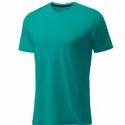 Mens Plain Matty Round Neck T Shirt