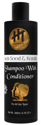 Human Touch Keratin Shampoo With Conditioner ( Unisex )- 200 ML