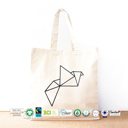 Biodegradable Cotton Canvas Beach Bag