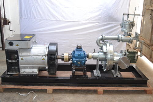 32 To 50 Kw Micro Steam Turbine Generators, For