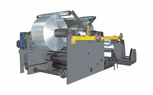 105 Hp Cotton Aluminium Fin Stock Slitting Machine, For Industrial, Standard
