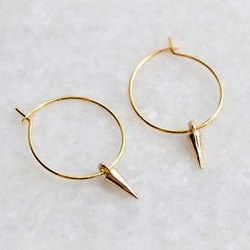 Handmade Gold Plated Earring