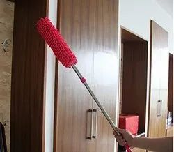 Multipurpose Microfiber Cleaning Duster With Extendable Telescopic Wall Hanging Handle