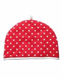 Red Dot Printed Tea Cosy