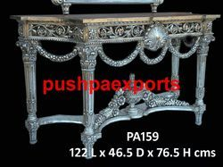 Silver Handmade Console Table