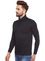 Black Men Full Sleeve T-Shirt