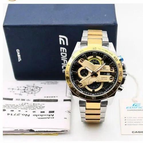 4eb960f6c Round Analog Mens Edifice Casio Wrist Watch, Rs 4990 /piece | ID ...