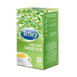 Tetley long life green tea