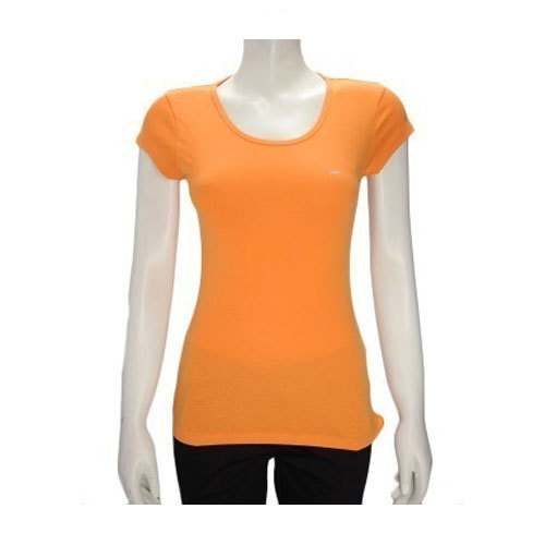 4dd42e38127202 Casual And Party Wear Half Sleeves Ladies Plain Top