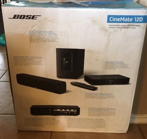 bose home theater system. bose soundtouch 120 home theater system - black y