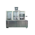 Glass Filling And Foil Sealing Machine