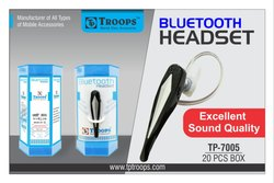 Troops Tp-7005 Tp-198 Bluetooth Headset
