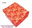 Saree Cover Floral Broket