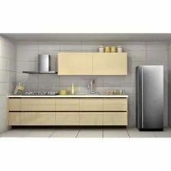 Designer Straight Modern Kitchen