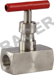 RACER Square Body Socket Weld End Needle Valves, Size: 8mm To 50mm, Needle Valve