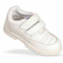PVC Daily wear White Gola Kids Shoes