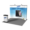 Concave Pop Up Display System