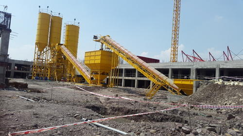 Rmc Plant 120 Cum Hr With 200 Mt Cement Silos Rs 500000 Unit Id