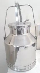 Stainless Steel 304 Milking Machine Can 25 ltr - Economy