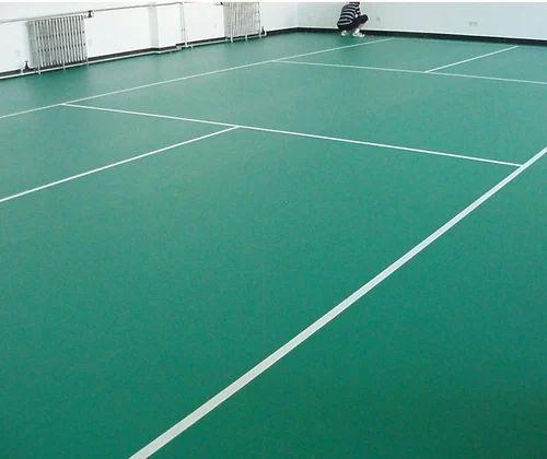 Epoxy Flooring Badminton Court Flooring Pan India Id
