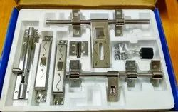 Stainless Steel S.S door kit, Size: 12, Rod Thickness: 16