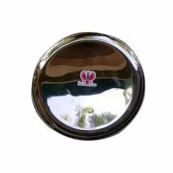 Stainless Steel Round Dinner Plate