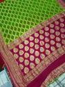Handloom Chiffon Silk Saree