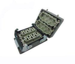 Sibass 12 Pin Side Entry Bottom Open Heavy Duty Connectors