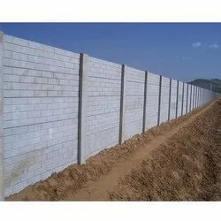 Cement Boundary Wall Construction Service, in Ambala