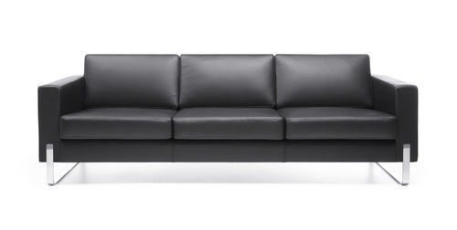 Exceptionnel Commercial Leather Sofa