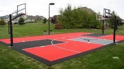 Basketball Sports Synthetic Surface