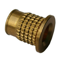 Flange Head Brass Threaded Insert