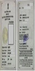 Election Card Registration