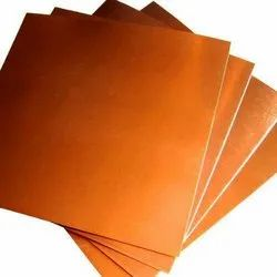 Flat copper foils