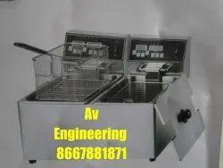 8 Ltr Double Electric Deep Fryer