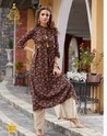 Embroidered Work Designer Palazzo Suit