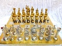 Metal Brass Chess