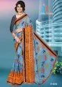 Guldasta Border Less Saree