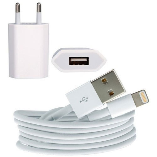 White Iphone Charger