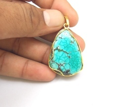 Turquoise Necklace Pendants