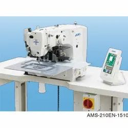 Juki AMS-210EN-1510 Computer Controlled Cycle Machine, for Light- to Medium Weight, Max Sewing Speed: 800 sti/min