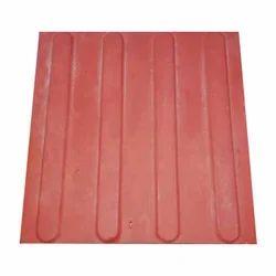 Red Floor Tile, 10 - 12 Mm