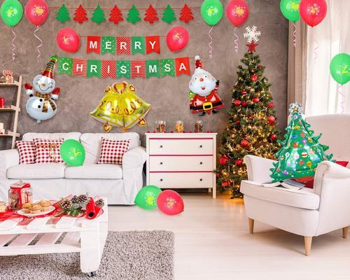 Colorful Christmas.Christmas Decorations 59 Pcs Christmas Party