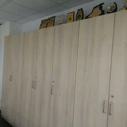 Wooden 7' Office Storages, No. Of Shelves: 4 Shelves