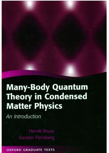 Condensed Matter Physics Book